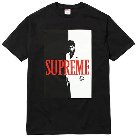 Supreme Shirts by Supreme Scarface Split Black