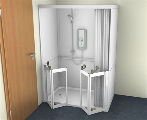 Disabled Half Height Shower Doors by Half Height Shower Screens For Contour Akw Impey
