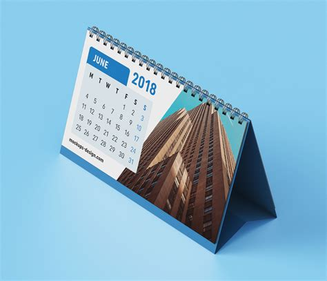 how to make a desk calendar in photoshop free premium desk table calendar mockup psd mockups
