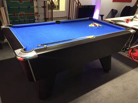 6 pool table for sale 6ft supreme winner pool table free play table