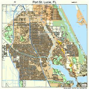 port st florida map 1258715