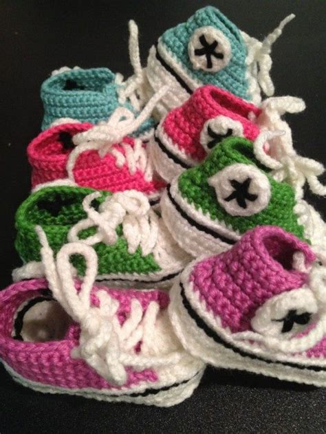 crochet converse slippers pattern free crochet converse baby booties pattern free tutorial
