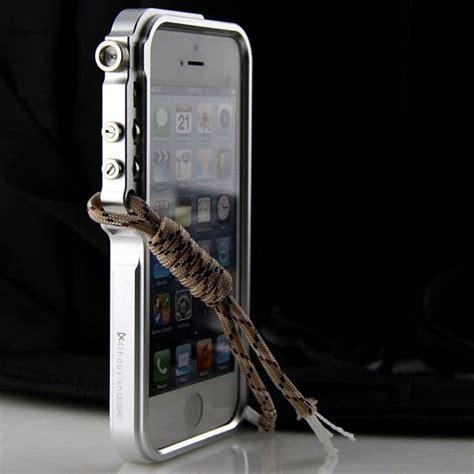 cool mans metal frame bumper trigger case cover  apple iphone    ebay