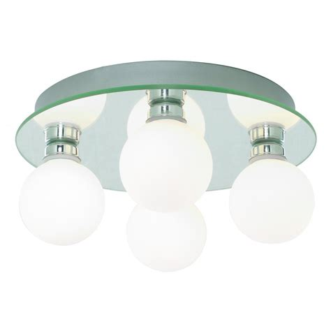 4 ceiling lights 4337 4 globe chrome flush ceiling light