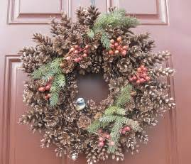 how to make a pine cone wreath our garden plot