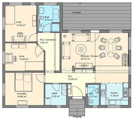 grundrisse erstellen winkelbungalow mit hems und satteldach d 228 nisches