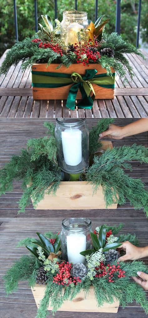 christmas center table decorations diy table decorations easy centerpiece in 10 minutes a of rainbow
