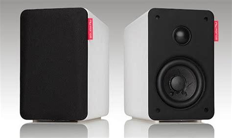 nuforce launches 300 bluetooth 4 0 bookshelf speakers
