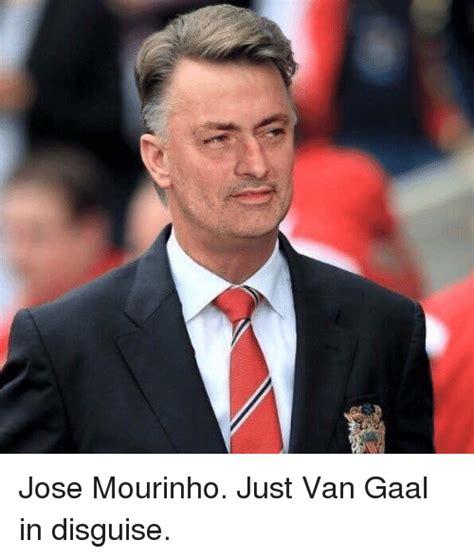 Mourinho Meme - jose mourinho just van gaal in disguise soccer meme on