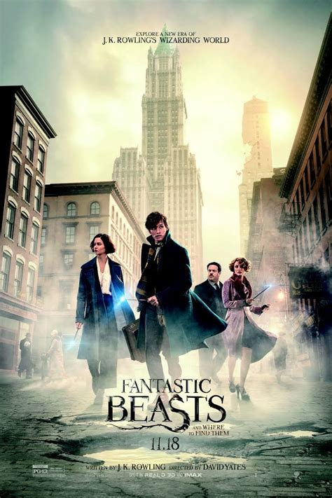 Where To Find Fantastic Beasts And Where To Find Them 2016 Hd Geo