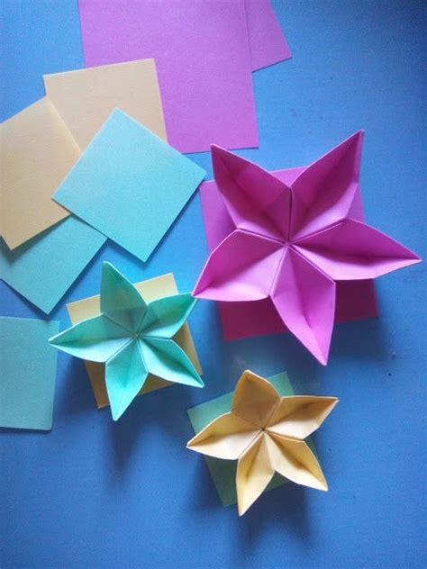 tutorial membuat origami bunga carambola cara membuat origami bunga sakura berbagi tutorial aneka