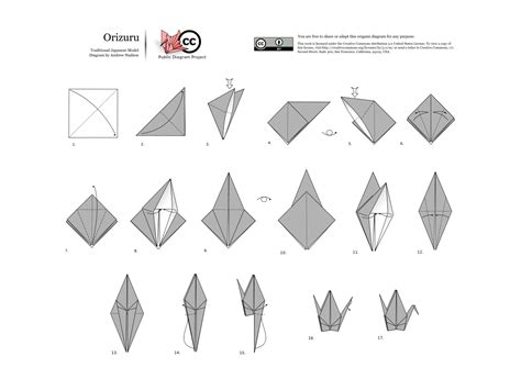 How To Make A Origami Crane - yoshizawa randlett system