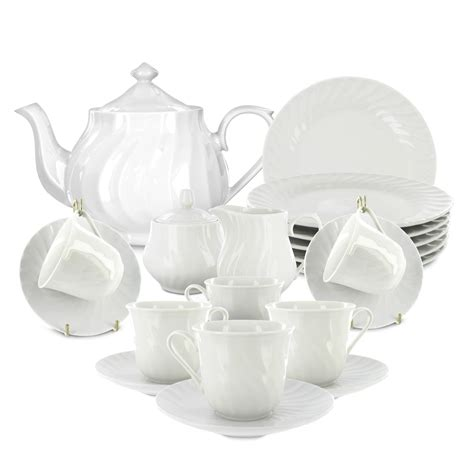 White Set by Imperial White Tea Set