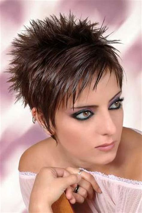 spiked pixie haircuts with bangs for women over 60 back view of pixie haircuts for women over 50 short