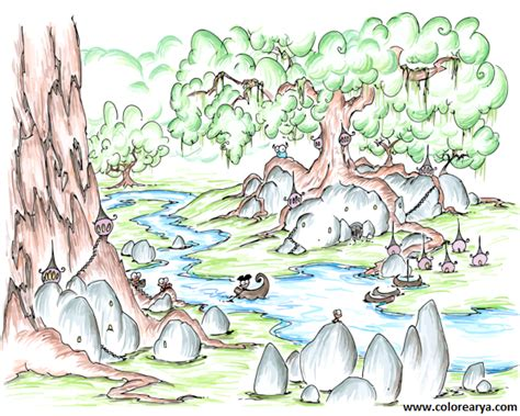 imagenes para dibujar naturaleza la naturaleza en dibujos para ni 241 os imagui