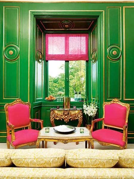 Pink And Green Room French Living Room Pink And Green Room