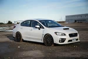 White Subaru Sti Review 2016 Subaru Wrx Sti Sport Package Canadian Auto