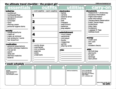 14 packing list templates word excel pdf formats