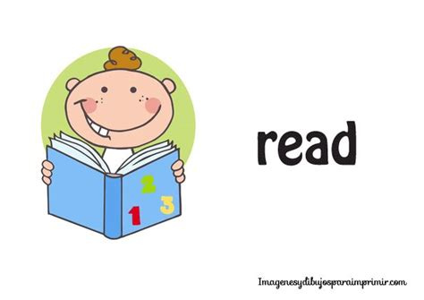 dibujos infantiles ingles imagenes de verbos en ingles para imprimir actividades