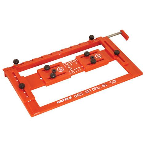 drilling jig for cabinet and drawer handles hafele set drilling jig for precise drilling and