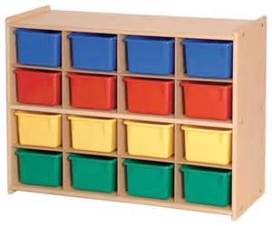 steffywood playroom bin organizer 16 tray cubby