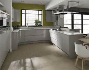 Open Galley Kitchen Designs remo dove grey kitchen handleless kitchens kitchens