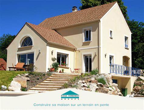 Construire Sa Maison by Construire Sa Maison Sur Un Terrain En Pente Groupe