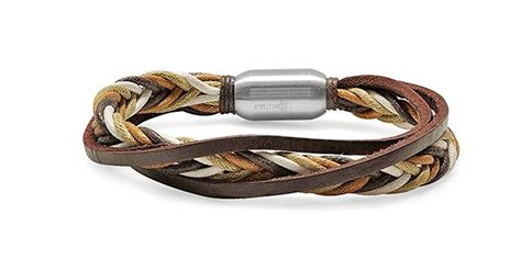 Mojave Braided Leather Men's Bracelet