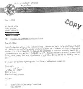 Sle Resume School Board Member Sle Letter Of Interest For Board Membership 28 Images Retirement Letter To Board Of