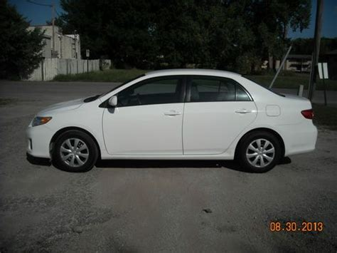how cars run 2011 toyota corolla transmission control find used 2011 toyota corolla le white with grey interior excellent condition must see in