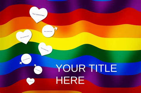 Free Prezi Template Honoring The Lgbt Pride Month Free Lgbt Powerpoint Templates