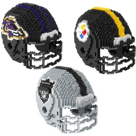 is sports fan island legit nfl 3d brxlz puzzle helmet sets pick your team
