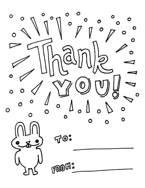 thank you coloring page free thank you coloring pages only coloring pages