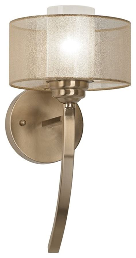 Possini Wall Sconces possini alecia 8 quot wide satin brass wall sconce contemporary wall sconces by