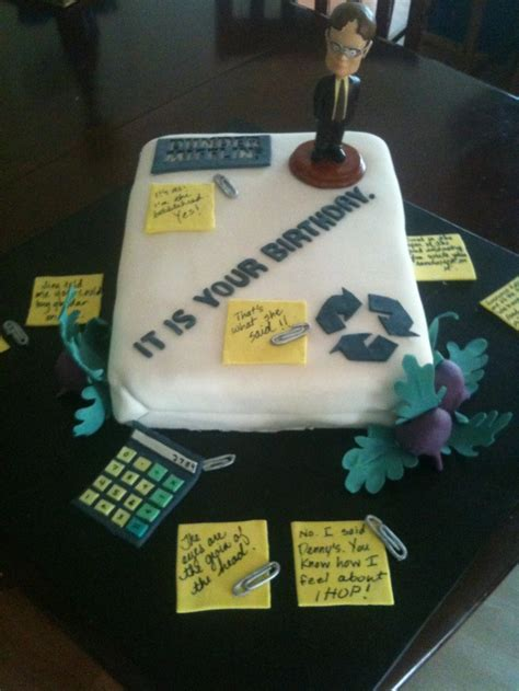 The Office Cake by 46 Best Images About Quot The Office Quot Birthday Great