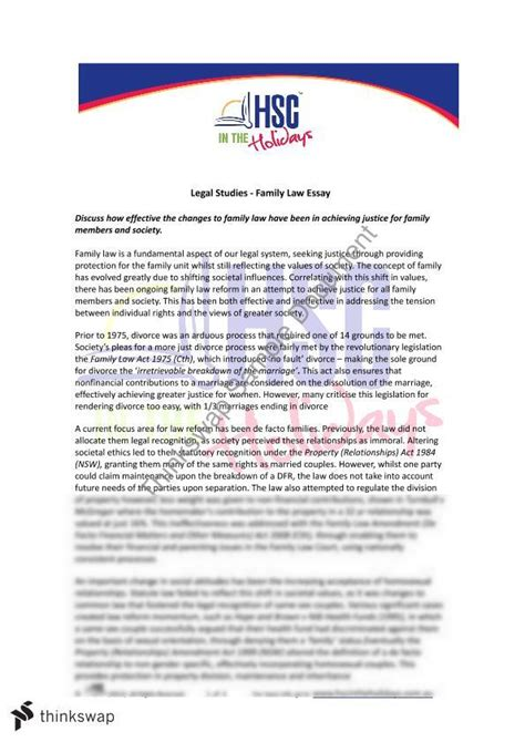 Anti Laws Essay by Essay About Family