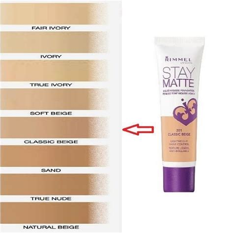 Rimmel Stay Matte Foundation skin care cosmetics make up l pink tulip