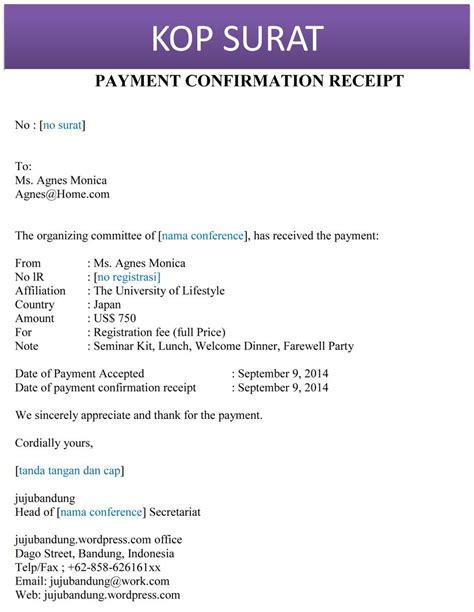 membuat bayaran in english contoh surat tanda terima pembayaran bahasa inggris
