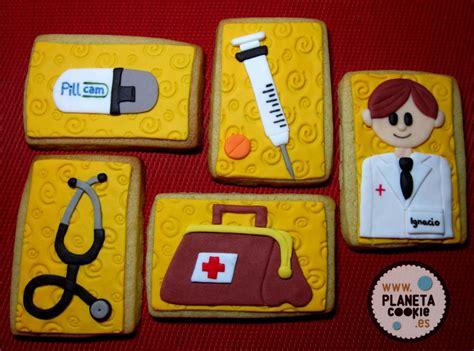 imagenes cumpleaños doctor galletas para m 233 dicos planeta cookie