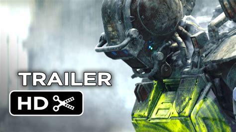 film robot trailer chappie official trailer 2 2015 hugh jackman