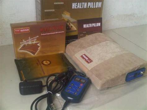 Bantal Getar Pijat Leher Opsional jual health lumbar pillow bantal pijat refleksi tulang belakang sehat grosir tv