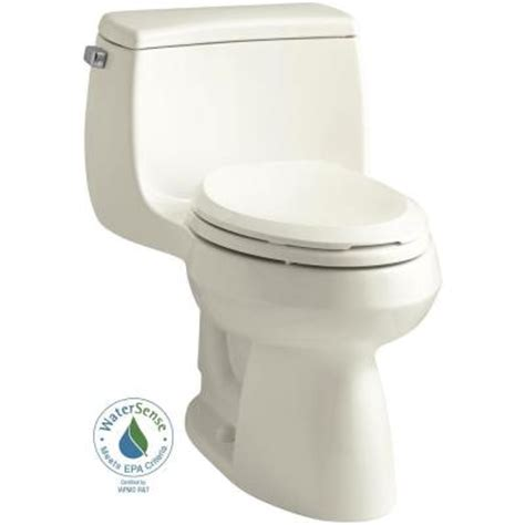 Comfort Toilets Home Depot by Kohler Gabrielle Comfort Height 1 1 28 Gpf Single
