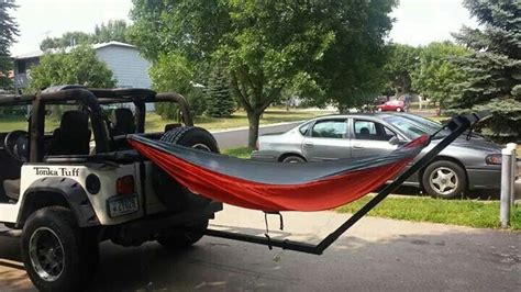 Tow Bar Hammock by Jeep Hitch Hammock Jeeps Bikes Jeep Jeep Hammock