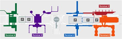 houston texas airport terminal map houston airport map and terminal map