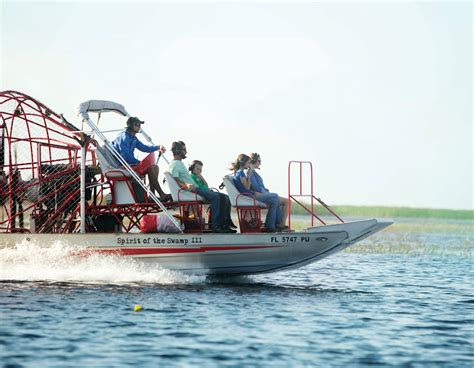 airboat in kissimmee spirit of the sw airboat rides kissimmee fl