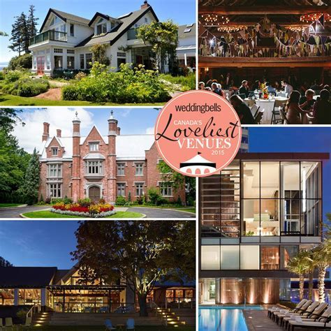 Canada's Loveliest Wedding Venues For 2015   Weddingbells