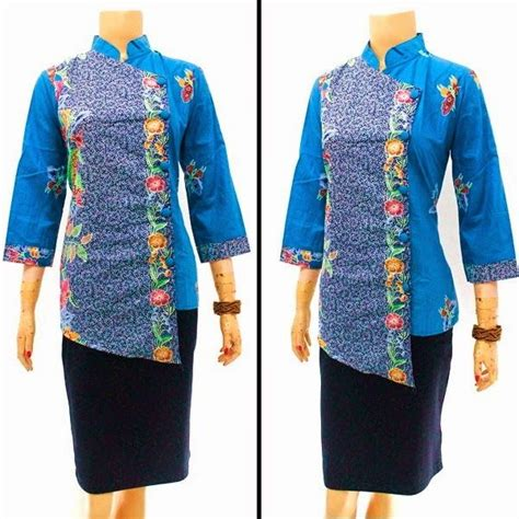 Blouse Pita Motif Batik 1000 images about kebaya batik on batik blazer wrap dresses and jakarta