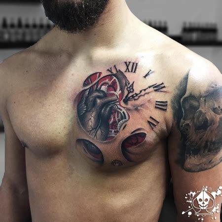 tattoo bewertung app marco pikass herz uhr tattoos von tattoo bewertung de