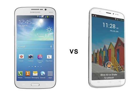 micromax canvas doodle 2 a240 vs samsung galaxy grand duos a comparison micromax canvas doodle 2 vs samsung mega 5 8