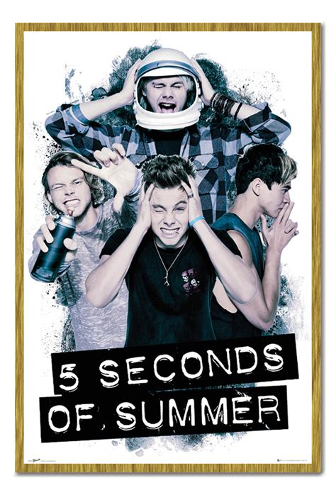 5sos Official Band Poster 5 Seconds Of Summer Iphone All Hp framed 5 seconds of summer official 5sos headache poster new ebay
